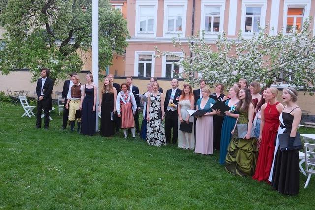 Vårbal Kalmar nations kör